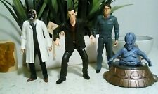"""Doctor Who 4 Figure Lot 6"""" - 9th Capt. Jack Harkness Moxx Balhoon Dr Constantine"""