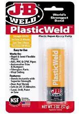 JB Weld PlasticWeld Plastic Repair Epoxy Putty Stick Fast Setting 8237 J-B Weld