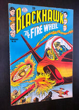 BLACKHAWK #85 (Quality 1955) -- Japanese / UFO Cover -- F-