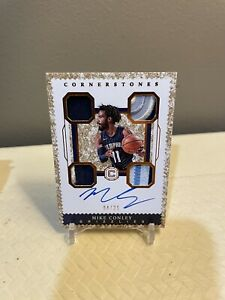 2017-18 Cornerstones Mike Conley Quad Jersey/Patch On Card Auto /25 DW