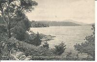 PC25636 Invertrossachs. Loch Vennachar. Callander. Valentine. Bromotype. No 9152
