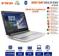 HP Pavilion 15-ak085na 15.6-Inch Gaming Notebook Core i7 6th-Gen 8GB RAM 2TB HDD