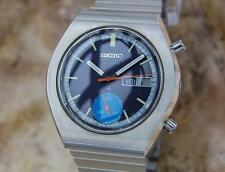 Seiko Chronograph 6139 9020 Automatic Made in Japan Stainless Steel Watch Y4