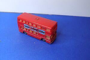 MAJORETTE ancienne British Bus  rouge Visit London