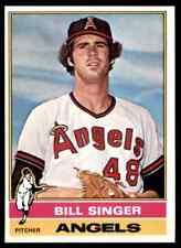 1976 TOPPS BILL SINGER #411 MINT ULTRA HI-GRADE SET BREAK BLR5A1