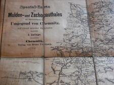 spezial-karte des mulden und zschopauthales