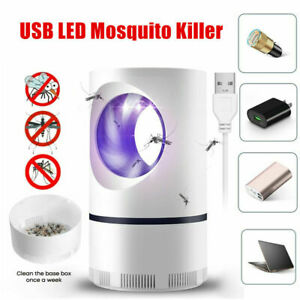 Electric Mosquito UV Light Mosquito Killer Insect Fly Zapper Trap Catcher Lamp~
