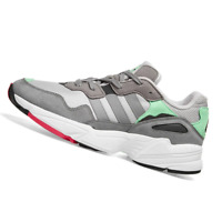 ADIDAS MENS Shoes Yung 96 - Grey & Shock Pink - F35020