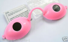LUNETTES pour solarium ROSE anti UV normes CE goggles gafas de protectoras NEUF
