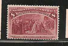 USA  #236  F-VF-NH   SC. Value $160.00