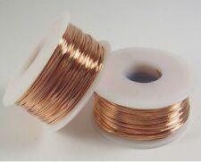 12 Ga Copper Wire Round Soft 2 x 1 Lb. Each Spool 2 x 50 ft Solid bare Copper
