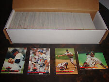 1993 Stadium Club Baseball---Complete Set---1-750---Includes Ripken, Ryan---NrMt