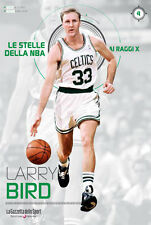 LIBRO BOOK N° 4 LARRY BIRD LE STELLE DELLA NBA AI RAGGI X BOSTON CELTICS