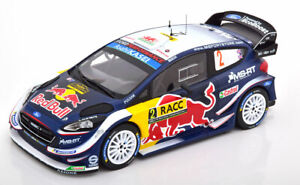1:18 Ixo Ford Fiesta WRC #2, Rally Catalunya Evans/Barritt 2018 Red