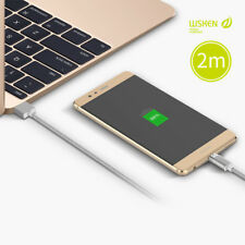 WSKEN Mini2 Magnetic Type-c Charger USB C Charging Cable for Huawei P9/p10 Plus Sony Xperia XZ Premium/x Compact