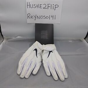 Nike Adult XL White Superbad LA Rams Gloves New