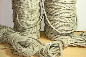 HEMP ROPE -100% NATURAL 100% EU   - Bondage - Gardening - Macrame  4- 6- 8MM