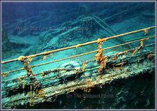 Photo RMS Titanic Wrecksite: Forecastle & Starboard Railing