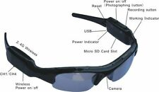 HD 720P Glasses Spy Hidden Camera Sunglasses Eyewear DVR Digital Video Recorder