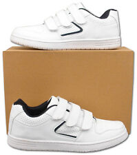 Mens New White  Sports Leisure Trainers Size 6 7 8 9 10 11 12