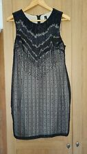 Topshop Beaded Dress Size 10-12