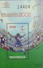 Indonesia FIFA World Cup 2002 Football Soccer Sport Games Stadium (ms) MNH
