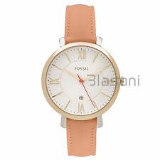 Fossil Original ES3737 Women's Jacqueline Tan Leather Watch 36mm