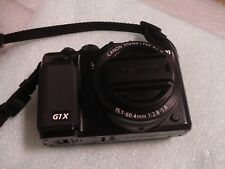 Very Nice Canon Powershot G1X 14MP Digital Camera G1 X