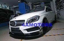 Carbon Fiber Front Spoiler Lip Spoiler For Benz W176 A250 A45 Amg Pakage AF-0312