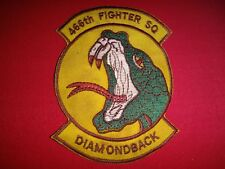 "US Air Force Patch 466th Fighter Squadron ""DIAMONDBACK"""