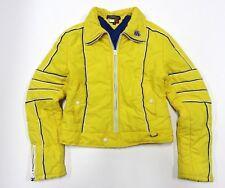 90s Tommy Hilfiger Jeans Outerwear Yellow Full Zip Jacket Children's Size Medium