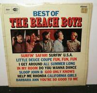 THE BEACH BOYS BEST OF (VG) ST-20856 LP VINYL RECORD