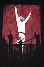 Men's WWE Authentic Wear Daniel Bryan YES Revolution Rebellion T-Shirt Sz Medium