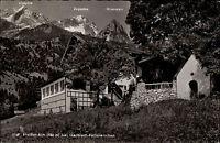 Pfeiffer-Alm Haus Hütte bei GARMISCH PARTENKIRCHEN 1963 Bayern Ak gelaufen