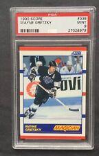 1999 Score #338 Wayne Gretzky PSA 9
