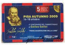 GALILEO GALILEI TIM TELECOM ITALIA PISA 2009 RARA RICARICA TIM