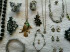 Large Bundle/ Job Lot Of Mostly Damaged Jewellery/ Hair Accessories Missing Jems