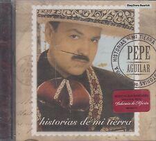 Pepe Aguilar Historia De Mi Tierra CD New Nuevo Sealed