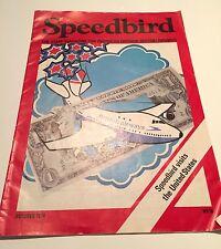 BRITISH AIRWAYS SPEEDBIRD STAFF MAGAZINE OCTOBER 1974 - IMPERIAL AIRWAYS USA