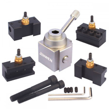 Jinwen Tooling Package Mini Lathe Quick Change Tool Post & Holders Multifid