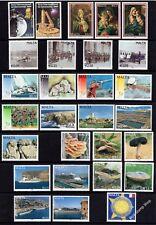Malta 2009 Complete Year Set SG1610 - 1637 Unmounted Mint