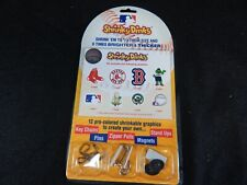 BOSTON RED SOX SHRINKY DINKS KEY CHAINS, PINS, ZIPPER PULLS, MAGNETS, STAND UPS