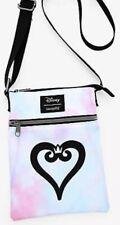 NWT Loungefly Disney Kingdom Hearts Tie Dye Canvas Passport Crossbody Purse Bag