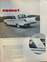 1960 Mercury Comet illustrated