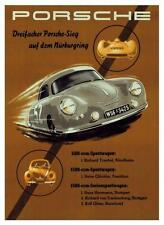 Porsche *POSTER* 356 auto  - 550 Spyder race car GERMANY 911 - AMAZING ART PRINT