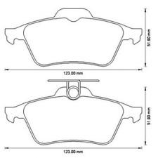 JURID Bremsbelagsatz WHITE Keramik für div. Citroen,Ford,Opel,Mazda 573186JC