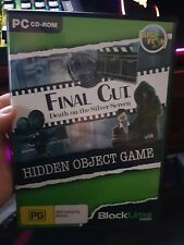 The Final Cut - Death on The Silver Screen (hidden object)-  PC GAME - FREE POST