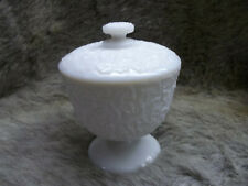 Vintage Westmoreland Covered Candy Dish - Grape Pattern