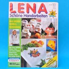 Lena 9/1997 | Schöne Handarbeiten | Herbst Klöppeln Sticken