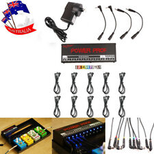 Guitar Effect Pedal Power Supply 10 Isolated Outputs for 9V/12V/18V Pedals AU